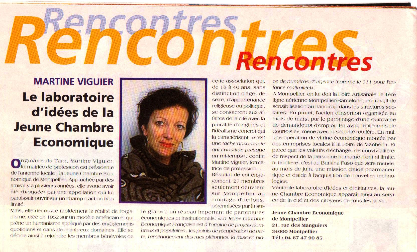 Montpellier Notre Ville, n°204, mars 1997